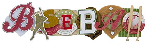 Unbekannt Baseball gestapelte Statement-Aufkleber, 6,3 x 22,9 cm