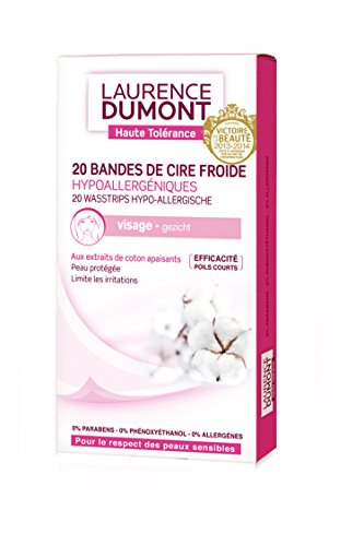 laurence-dumont-20-bandes-visage-hypoallergenique-20-bandes-cire-froide