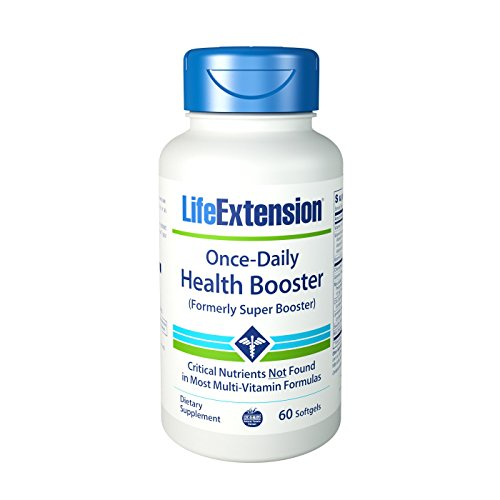 Life Extension, Once-Daily Health Booster (Gesundheitsbooster), 60 Kapseln