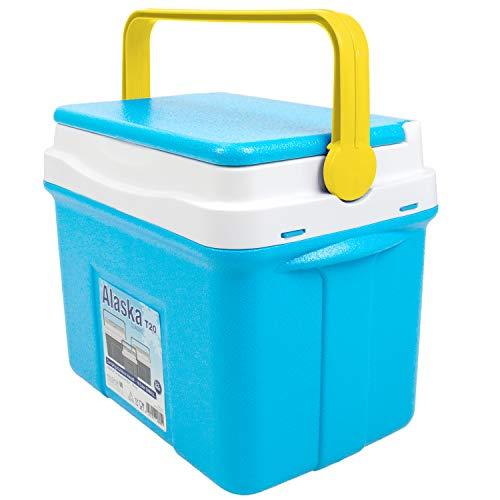 noorsk Klassische Kühlbox in verschiedenen Größen ideale Thermobox für das Auto und zum Camping - Blau - 18 L