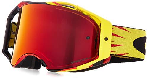 Oakley Crossbrille Airbrake MX Gelb (Oakley-goggles Großer)