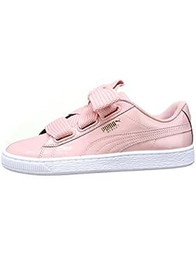 Puma Basket Heart Patente WN 's Zapatillas, rosa