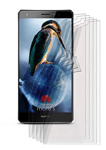 5X Huawei Mate S | Schutzfolie Matt Bildschirm Schutz [Anti-Reflex] Screen Protector Fingerprint Handy-Folie Matte Bildschirmschutz-Folie für Huawei Mate S Bildschirmfolie