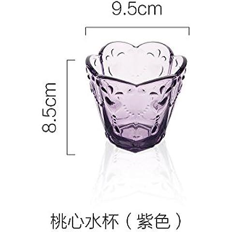 yifom creative vetro ciotola di frutta ciotola di gelato ciotole