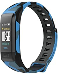 Impermeable Reloj Inteligente Deportivo Pantalla A Color Podómetro Fitness Tracker Pulsómetro Análisis De Sueño Cámara Bluetooth