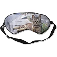 Asphalt Road Gray Striped Cat Sleep Eyes Masks - Comfortable Sleeping Mask Eye Cover For Travelling Night Noon... preisvergleich bei billige-tabletten.eu