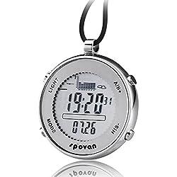 Reloj al aire libre - Spovan SPV 600 reloj de bolsillo exterior impermeable unisex
