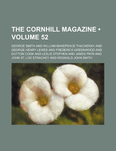 The Cornhill magazine (Volume 52)
