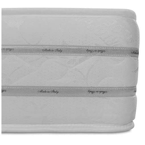 Baldiflex Materasso Singolo Easy 2.0 in Memory Foam, Ortopedico, Antiacaro, 80x190x22cm