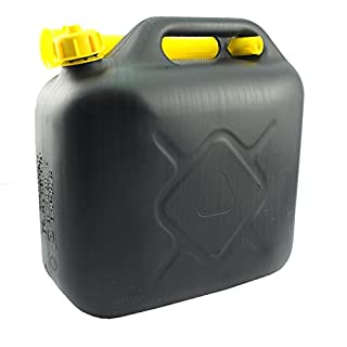 Petrol Can - In Assorted capacity Of 5L, 10L, 20L With Pouring Spout (Pack of  1, 10L)
