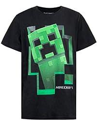Minecraft Jungen Creeper T-Shirt