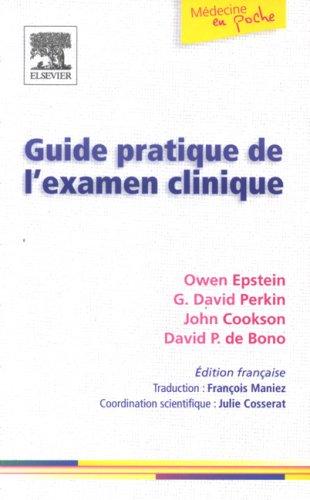Guide pratique de l'examen clinique