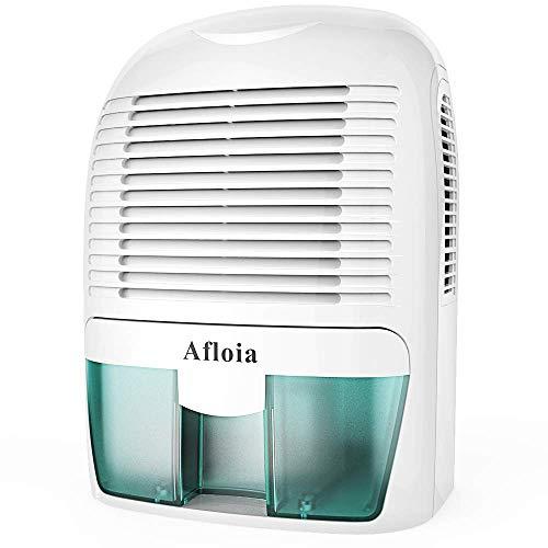Mini Luftentfeuchter Raumentfeuchter Entfeuchter für Feuchtigkeit, Schimmel Effizient mit 1500ml Wassertank Super leise, Elektirisch Dehumidifier für Kellerräume Badezimmer Raum, Smaragd -