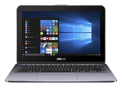 ASUS VivoBook Flip 12 TP203NAH (90NB0FK1-M00860) 29,5 cm (11,6 Zoll, HD, Touch) Convertible (Intel Pentium Quad-Core N4200, 4GB RAM, 1TB HDD, Intel HD Graphics, Win10) Grau