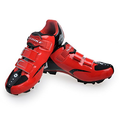 Sidebike , Damen Radsportschuhe MTB-Red
