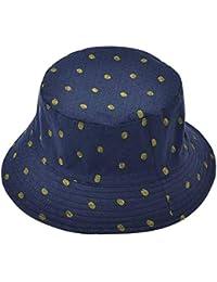 Targogo Sombrero Del Cubo De La Piña Mujeres De Ocasional Las Sombrero Del  Cubo Del Verano Sombrero De La Pesca De La Protección Solar… 4885e1ec007