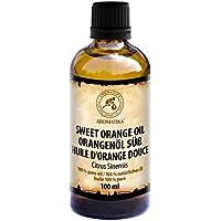 Orangenöl 100ml - Citrus Sinensis - Brasilien - 100% Reines & Natürliches Ätherisches Orangen Öl für Guten Schlaf... preisvergleich bei billige-tabletten.eu