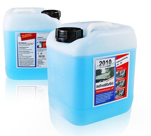 5,0 Liter Frostschutz - Scheibenklar Scheibenfrostschutz -20°C