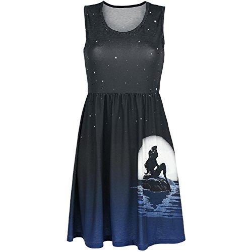 Disney Arielle Moonshine Kleid schwarz, Größe:M