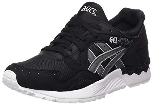 Asics Gel-Lyte V, Chaussures Mixte Adulte Nero (Black/Grey)