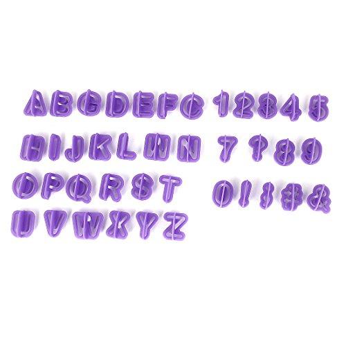 Preisvergleich Produktbild Sourcingmap Alphabet Reihe Design Kuchen Keks Backform Ausstecher 40in 1