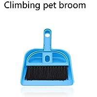 YWJHY Kit de Limpieza de Terrarios para Mascotas Escalada Caja de Tortugas Limpieza de Escobas Pequeñas Limpieza de Estiércol,Azul,Una Talla