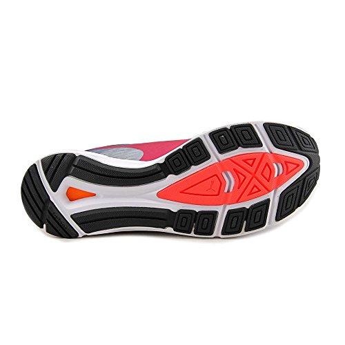 Puma Speed 300 Ignite Synthétique Baskets Quarry-Black-Rose Red