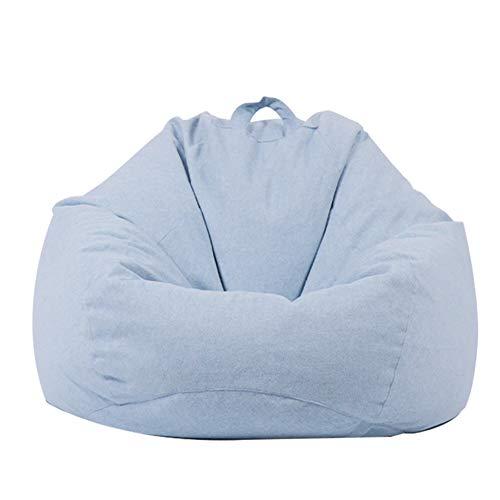XUE Sofa Sack, Ultra Soft Bean Bag Chair-Waschhable Möbel für Kinder, Teens und Erwachsene Memory Foam Bean Bag Stuhlcover-Stuffed Foam gefüllte Möbel und Zubehör für Dorm Room Machine