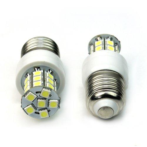 Refaxi AC 110V 5W 27 5050 LED E27 Bombilla de luz de maíz Lámpara Cool White