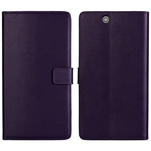UKDANDANWEI Sony Xperia Z Ultra Hülle - Book-Style Wallet Case Flip Cover Etui Tasche Case mit Standfunktion Für Sony Xperia Z Ultra Lila