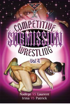 French topless mixed wrestling - Competitive submission wrestling vol.4 (Female vs Male) DVD Amazon's Prod