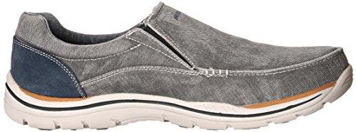 Skechers previsto Avillo uomo Casual scivolare sulla scarpa Blue