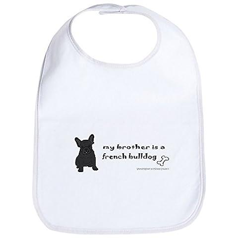 CafePress - french bulldog gifts Bib - Cute Cloth Baby Bib, Toddler Bib