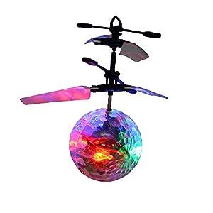Kögler 54524 - Bola de Discoteca con Mando a Distancia y Cable de Carga USB, Aprox. 11,5 x 16 cm, Regalo Ideal para niños y jóvenes.