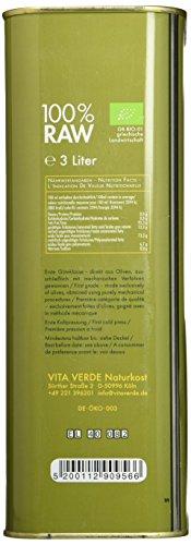Vita Verde Olivenöl nativ extra, 1er Pack (1 x 3 kg) - 4