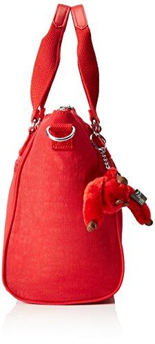 Kipling AMIEL, Damen Schultertasche ,, Rot (35J Vibrant Red)