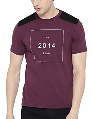 10eab984e6 T-Shirts for Men: Buy Men's T-Shirts Online at Low Prices in India ...