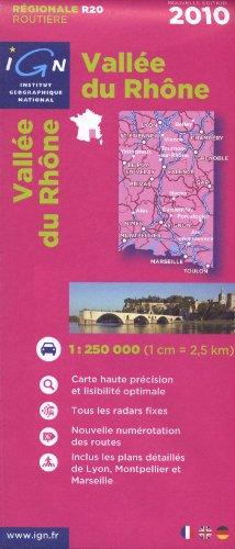 R20 Vallee du Rhône 2010 1/250.000