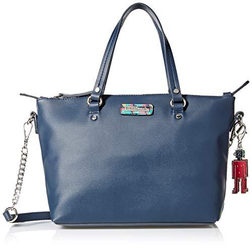 Desigual Bag Colorama Gela Women - Borse a tracolla Donna, Rosso (Azalea), 10.5x22x25 cm (B x H T)