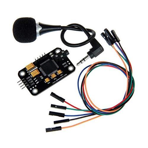Yongse Geeetech modulo di riconoscimento vocale con Microfono Scheda vocale di Controllo per Arduino di