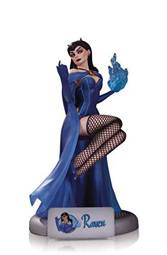 DC Comics OCT160332Statue, Bombshells Raven
