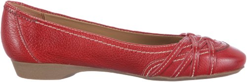 Naturalizer INEZ A6026L1001, Ballerine donna Rosso (Red Pepper)