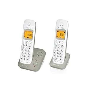Alcatel E130 Voice DUO Téléphones Sans fil Répondeur Ecran