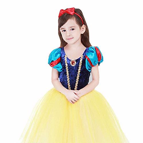Xuanbao Frauen Cosplay Kostüm Schneewittchen Infant Kostüm für 3-11 Jahre (Größe : M(110-120cm))
