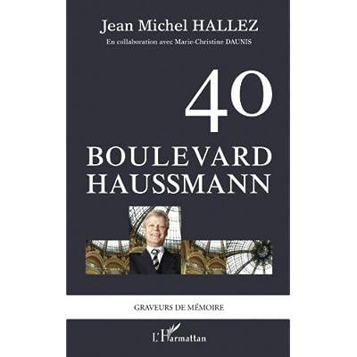 40 boulevard Haussmann