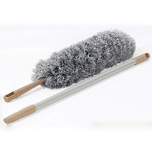 JLCP Staubfänger Biegsamen Mikrofaser Staubwedel Reinigungsbürste Erweiterbar Pole Waschbar Antistatisch Für Home Office Auto Reinigung Werkzeuge -