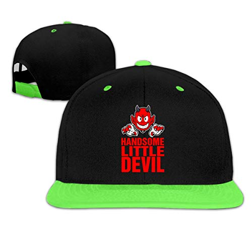 Handsome Little Devil Boy and Girl Hip Hop Baseball Hat Cute Devil Girl