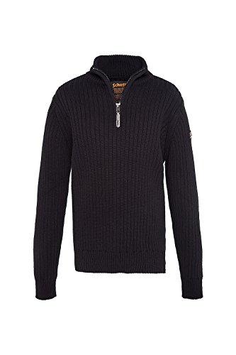Schott NYC Herren Pullover Noir (Black)