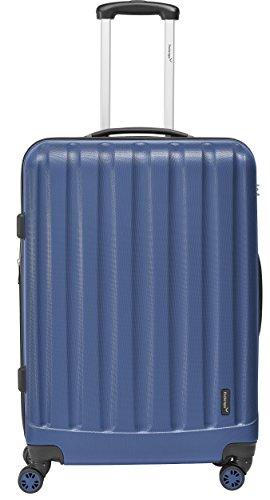 Packenger Velvet Koffer, Trolley, Hartschale 3er-Set in Atlantikblau, Größe M, L und XL - 2