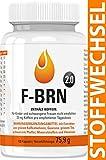Vihado F-BRN 2.0 - Stoffwechsel Komplex Kapseln, Booster mit Grüner Kaffee Extrakt, Grüner Tee Extrakt, Guarana, Vitamine, 100 Kapseln
